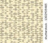 seamless geometric pattern... | Shutterstock .eps vector #1302935485