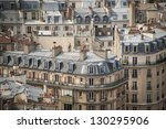 Paris Rooftops Seen From Tower...