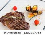 restaurant meal background....   Shutterstock . vector #1302967765
