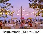 abstract blur image customer... | Shutterstock . vector #1302970465