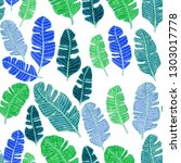 seamless pattern with hand... | Shutterstock . vector #1303017778