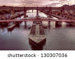 Swing Bridge   Red Hue Bridge...