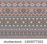 navajo american indian pattern... | Shutterstock .eps vector #1303077202