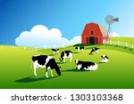 Herd Of Cows On Pasture. Cattl...