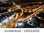 berlin bei nacht | Shutterstock . vector #130312652