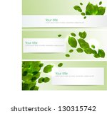 Vector Spring Summer Banners