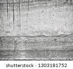old gray grunge background....   Shutterstock . vector #1303181752