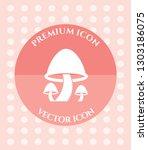 mushroom icon for web ... | Shutterstock .eps vector #1303186075