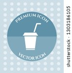 coffee cup icon for web ... | Shutterstock .eps vector #1303186105