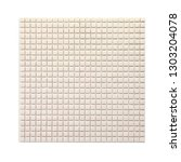 square background wall mosaic...   Shutterstock . vector #1303204078