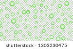translucent bubbles or water... | Shutterstock .eps vector #1303230475