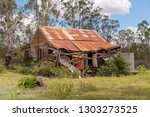 Old Falling Down Shack By The...
