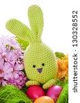 Handmade Easter Bunny With...