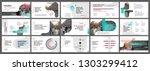 presentation template. elements ... | Shutterstock .eps vector #1303299412