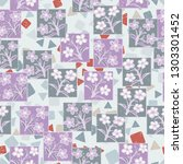 seamless pattern made up of...   Shutterstock .eps vector #1303301452