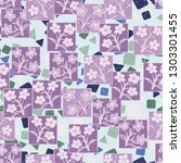 seamless pattern made up of...   Shutterstock .eps vector #1303301455