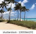 sunday stroll at bal harbour | Shutterstock . vector #1303366192