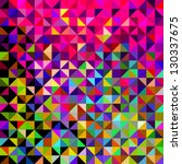 abstract vector geometric color ... | Shutterstock .eps vector #130337675
