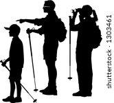 Vector Silhouette Graphic...
