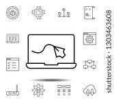 computer  design icon. simple...