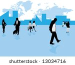 business life | Shutterstock . vector #13034716