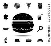 burger icon. simple glyph...