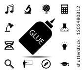 glue illustration icon. simple...