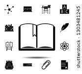 book icon. simple glyph...