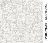 e commerce seamless pattern... | Shutterstock .eps vector #1303482958