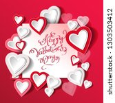vector illustration.valentine's ...   Shutterstock .eps vector #1303503412