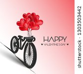 vector illustration.valentine's ...   Shutterstock .eps vector #1303503442