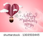 vector illustration.valentine's ... | Shutterstock .eps vector #1303503445