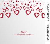vector illustration.valentine's ...   Shutterstock .eps vector #1303503448