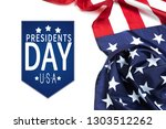 presidents day usa   image | Shutterstock . vector #1303512262