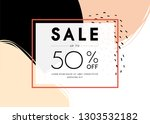 sale banner template design.... | Shutterstock .eps vector #1303532182