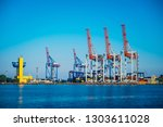 black sea trade port ... | Shutterstock . vector #1303611028