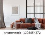 scandinavian apartment interior ... | Shutterstock . vector #1303654372