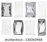 collection of various paper and ... | Shutterstock . vector #130365968