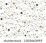 holiday seamless pattern.... | Shutterstock . vector #1303663495