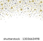 holiday background pattern with ... | Shutterstock . vector #1303663498