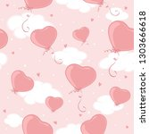 pink seamless background.... | Shutterstock . vector #1303666618