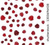 dark red vector seamless doodle ... | Shutterstock .eps vector #1303696438