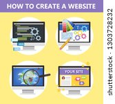 how to make a website on the...