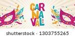 popular event in brazil.... | Shutterstock .eps vector #1303755265
