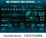 hud futuristic green user...   Shutterstock .eps vector #1303756888