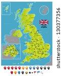 united kingdom | Shutterstock .eps vector #130377356