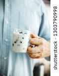 healthy breakfast variety.... | Shutterstock . vector #1303790998