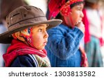 peru  cusco   13 october 2018 ... | Shutterstock . vector #1303813582