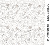 set of vector illustration... | Shutterstock .eps vector #1303835602