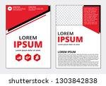 business flyer modern template... | Shutterstock .eps vector #1303842838